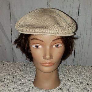 Kangol cream cap